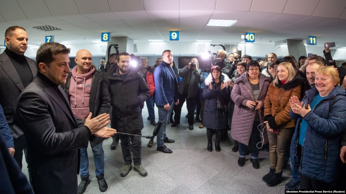 Радио Свобода Daily: Зеленский прокомментировал обмен ексберкутівців