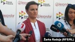 Սերբիայի վարչապետ Անա Բրնաբիչ, արխիվ