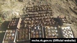 В Ленинском районе спасатели уничтожили 415 взрывоопасных предметов