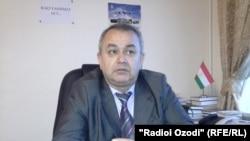 Заместитель министра юстиции Таджикистана Абдуманон Холиков.