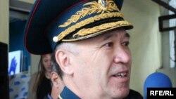 Запастағы генерал-майор Әмірбек Тоғысов.
