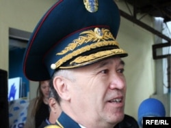 Запастағы генерал-майор Әмірбек Төгісов.