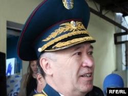 Отставкадағы генерал Әмірбек Тоғысов.