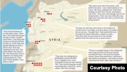مراكز التعذيب في سوريا