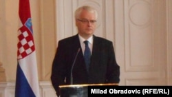 Presidenti aktual i Kroacisë, Ivo Josipoviq.