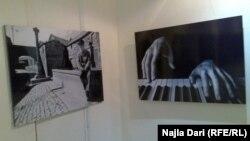 من معرض للصور الفوتوغرافية في بغداد