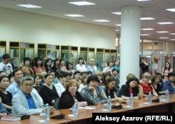 Участники презентации трехтомника. Алматы, май 2012 года.