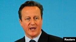 David Cameron, foto nga arkivi
