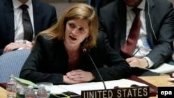 Ambasadoarea Samantha Power