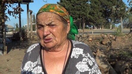 Xanbulan qəsəbəsinin 80 yaşlı sakini Nərgiz Nəsirova