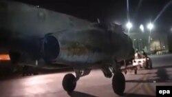 طائرة عراقية من طراز سوخوي 25
