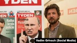 Росіянин Антон Літвін – активний учасник акцій у Празі на підтримку України