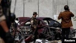 Աֆղանստան- Իրավապհները պայթյունի վայրում, 15-ը օգոստոսի, 2016թ