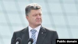 Украина президенті Петр Порошенко. Киев, 24 тамыз 2014 жыл.