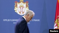 Președintele sîrb Tomislav Nikolic