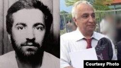 علی معتمد (راست) و (محمد)رضا کلاهی صمدی، که به نوشته روزنامه پارول هلند هر دو یک نفرند.