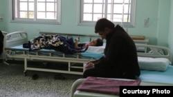 مرضى في مستشفى بشمال سوريا