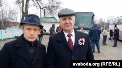 Аляксей Янукевіч і Рыгор Кастусёў