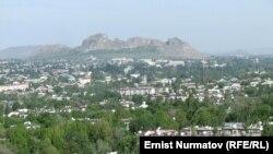 Вид на город Ош. Иллюстративное фото