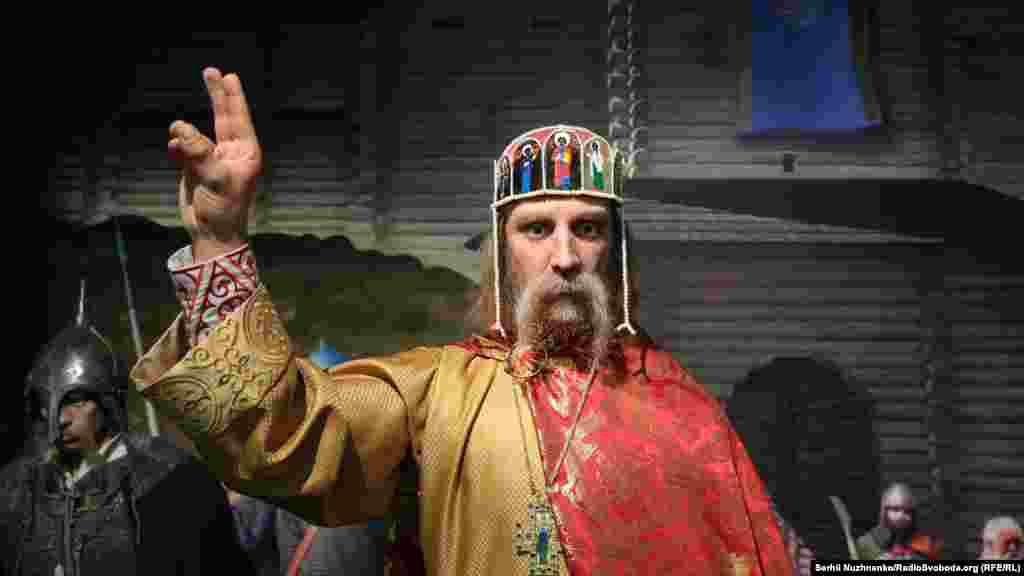 Князь Володимир Великий хреститель Руси-України «запитує», чи хрещені ви?