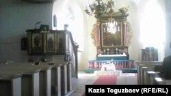Христиан соборы. Раквере қаласы. Эстония, 11 қазан 2015 жыл. (Көрнекі сурет)