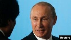 Ресей президенті Владимир Путин. Бразилия, 16 шілде 2014 жыл.