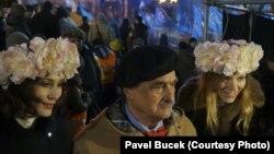 Спільною сторінкою історії став візит міністра закордонних справ Чехії Карела Шварценберґа на київський Майдан, 14 грудня 2013 року
