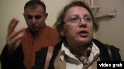 Директор Института мира и демократии, правозащитница Лейла Юнус, 29 марта 2014