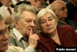 Александр Лавут с женой Симой Мостинской