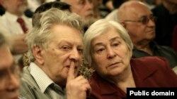Олександр Лавут з дружиною Сімою Мостинською