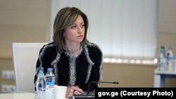 Georgia -- Health minister Ekaterine Tikaradze, 25Mar2020