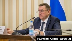 Голова російського уряду Криму Юрій Гоцанюк