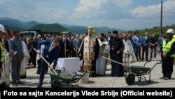 "Polaganje kamen temeljca za naselje ""Sunčana dolina"", juni 2016."