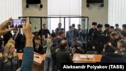 """В зале суда по делу """"Сети"""", Пенза, 10 февраля 2020"""