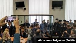 """На суде по делу """"Сети"""" в Пензе 10 февраля 2020 г."""