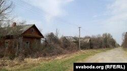 Галоўная вуліца Леніна ў Савічах