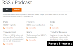 Podcast RSS Page