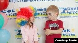 """На мероприятии самарской организации """"Домик детства"""""""