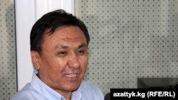 """Кубанычбек Өмүралиев, """"Кыргыз парламентарийлери коррупцияга каршы"""" уюмунун башчысы."""