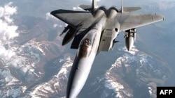 Американский истребитель F-15C Eagle