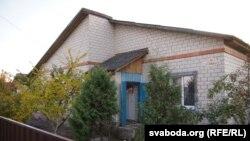 Дом дзе жыла сям'я сьвятара