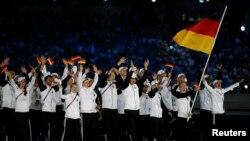 Almaniya idmançıları Avropa Oyunlarının açılış mərasimində - 12 iyun 2015