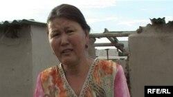 Дарига Курмангалиева, жительница пострадавшего от наводнения села Кольтабан. Июль 2010 года.