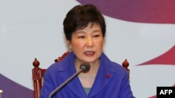 Günorta Koreýanyň prezidenti Park Geun-Hye. 9-njy mart, 2017 ý.