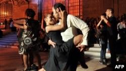 Танго в исполнении пары из Турции