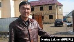 Алишер Сагиев, житель села Жанашамалган, Алматинской области.