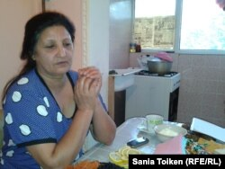 Сурма Надиева, жительница города Кульсары Атырауской области.