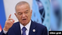 Uzbekistan - Islam Karimov has been hospitalized - grab for social video
