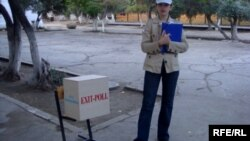 2008-ci il seçkilərində «exit-poll».