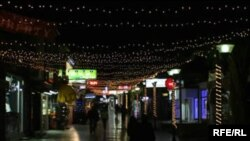 Новогoдишен амбиент во Охрид